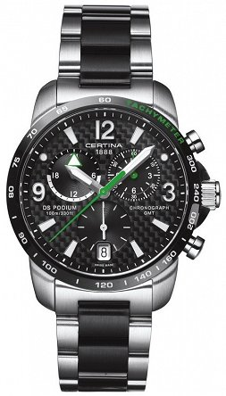 Certina, C0016392220702, DS PODIUM BIG SIZE CHRONO GMT